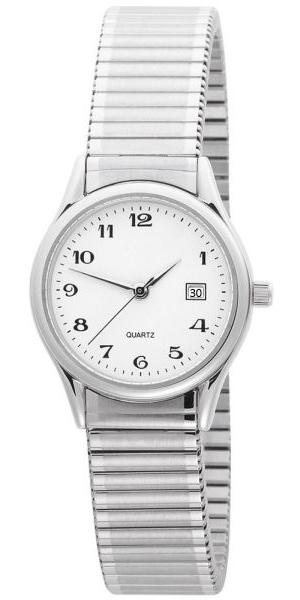 Design simples e elegante, função subversiva. Este relógio de pulso para senhoras foi desenhado especialmente para evitar a necessidade de mudar a hora no próximo de 30. Crédito: GRM