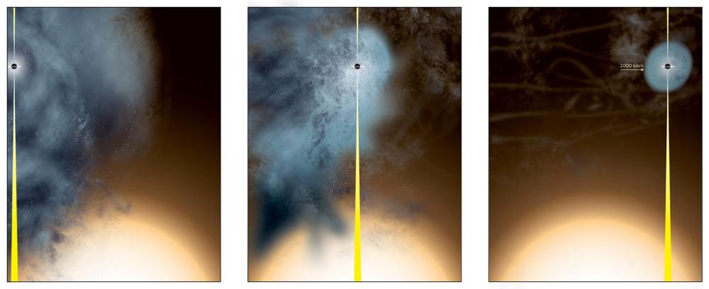 Formação do buraco negro B3 1715+425