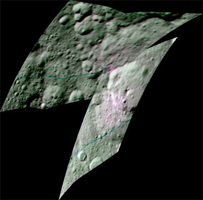 Compostos Orgânicos em Ceres (VIR)