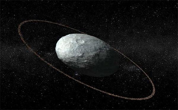Ilustração de Haumea.