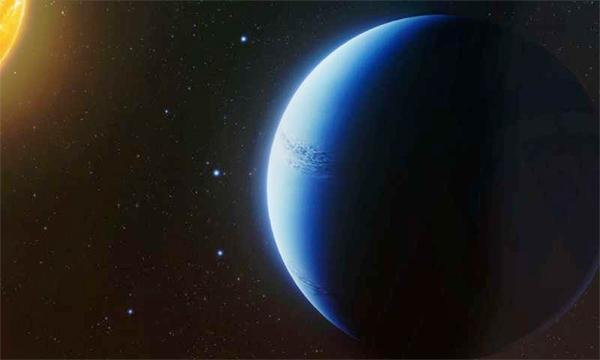 Exoplaneta WASP-96b - ilustração.