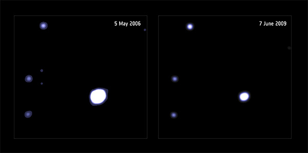 Fonte de raios-X 3XMM J215022.4-055108.