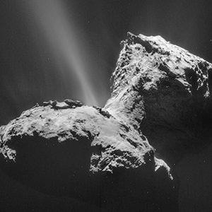 Cometa 67P/Churyumov-Gerasimenko.