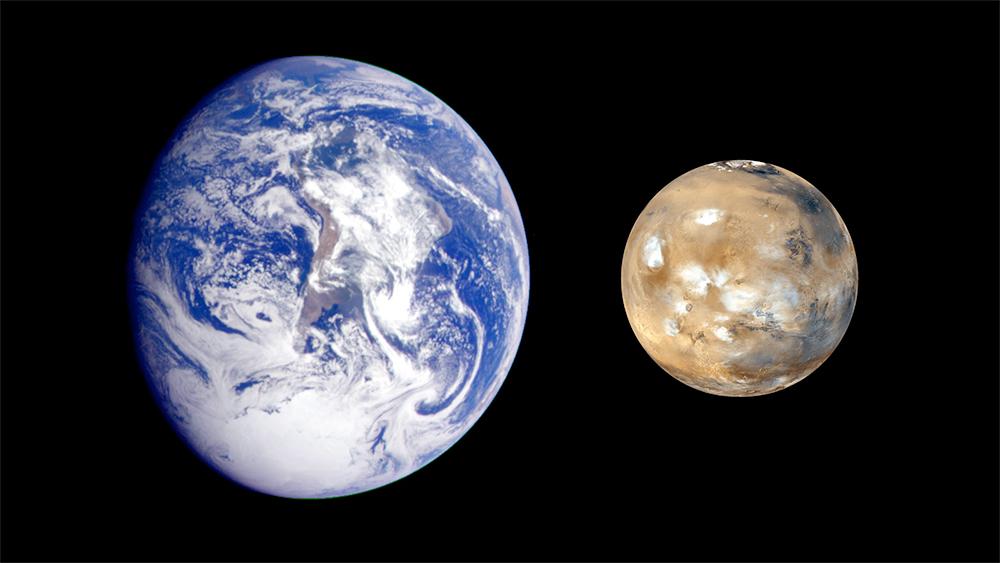 Terrea e Marte.