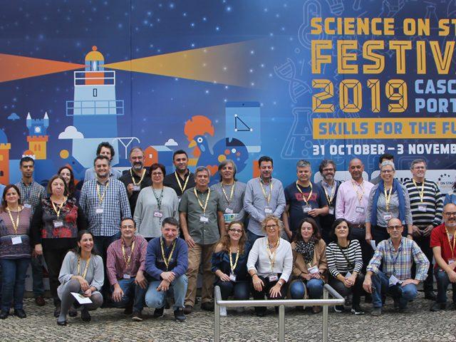 O Festival Science on Stage 2019 terminou em festa – projeto português recebeu o European STEM Teacher Award