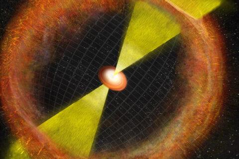 Um importante marco na investigação em buracos negros