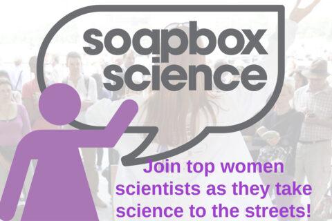 Vem aí o Soapbox Science 2021!