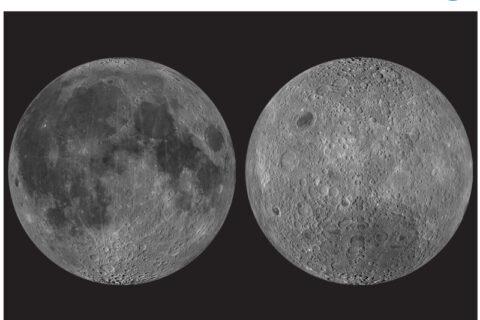 Mapa da Lua (1651)