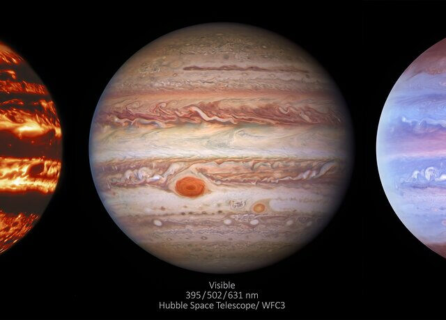 Júpiter como nunca antes o vimos
