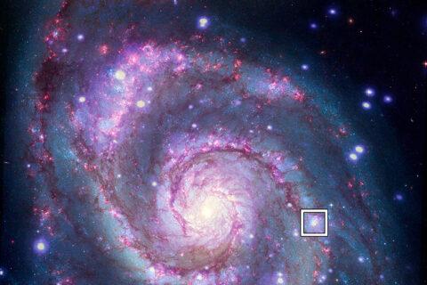 Chandra deteta sinais de possível planeta em outra galáxia