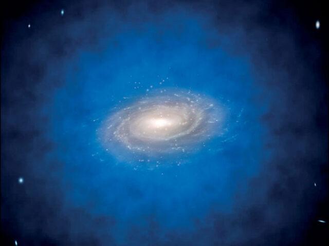 Novo estudo sugere que os buracos negros supermassivos se podem formar a partir de matéria escura